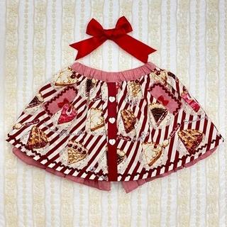 Shirley Temple - 130 アメリカンパイ パンツインスカート シャーリーテンプル