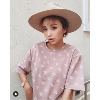 エイミーイストワール(eimy istoire)の新品 eimy istoire Tシャツ ピンク ES(Tシャツ(半袖/袖なし))
