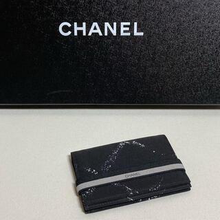CHANEL - CHANEL 旧 トラベルライン カードケース 名刺入れ