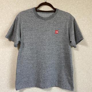 ザノースフェイス(THE NORTH FACE)のザノースフェイス Tシャツ カットソー トップス メンズ グレー(Tシャツ/カットソー(半袖/袖なし))