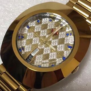 ラドー(RADO)のRADO ラドー DIASTAR ダイヤスター ゴールド 自動巻きメンズ腕時計(腕時計(アナログ))