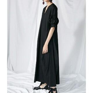 ENFOLD - Enfold SOMELOS ボリュームスリーブマキシ ドレス 36サイズ
