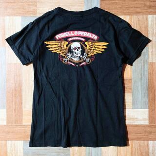 パウエル(POWELL)のPOWELL PERALTA Tシャツ ブラック(Tシャツ/カットソー(半袖/袖なし))