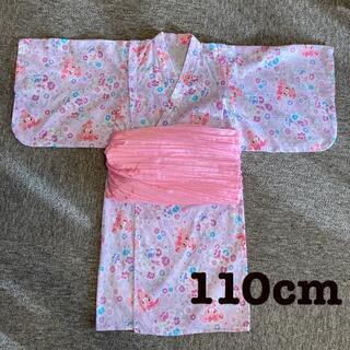 サンリオ(サンリオ)のサンリオ♡ぼんぼんリボンのワンピース浴衣👘(甚平/浴衣)