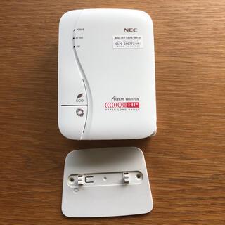 エヌイーシー(NEC)のNEC aterm wr8175n ルーター(PC周辺機器)
