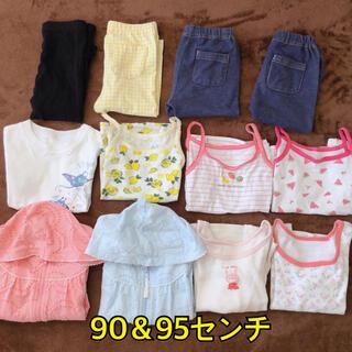 ユニクロ(UNIQLO)の女の子 90.95センチ(Tシャツ/カットソー)