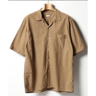 COMOLI - comoli ベタシャンオープンカラーシャツ