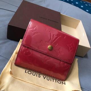 LOUIS VUITTON - ルイヴィトン ヴェルニ 折り財布