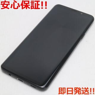 ギャラクシー(Galaxy)の美品 SC-03K ブラック 本体 白ロム (スマートフォン本体)