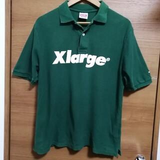 エクストララージ(XLARGE)のXlarge エクストララージ ビックロゴ プリントロゴ ポロシャツ 半袖シャツ(ポロシャツ)