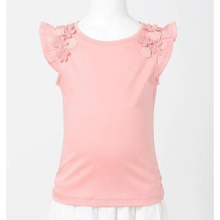 トッカ(TOCCA)のトッカ キッズ☆バンビーニ☆フレンチスリーブ Tシャツ☆110 ピンク(Tシャツ/カットソー)