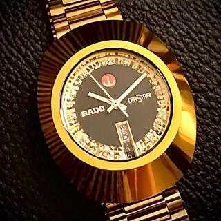 ラドー(RADO)のライカ様ラドー RADO ダイヤスター 自動巻き  ゴールド 腕時計 ビンテージ(腕時計(アナログ))
