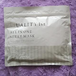 クオリティファースト(QUALITY FIRST)のクオリティファースト オールインワンシートマスク ホワイト 30枚入(パック/フェイスマスク)