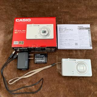 CASIO - ★ CASIO デジタルカメラ EXILIM EX-ZR70W ★