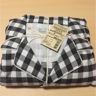ムジルシリョウヒン(MUJI (無印良品))の無印良品 MUJI 脇に縫い目のないフランネルパジャマ テヒョン着用 新品(ルームウェア)