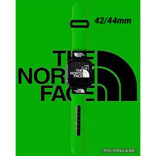 週末特価♪新品アップルウォッチバンド 緑色42/44mm