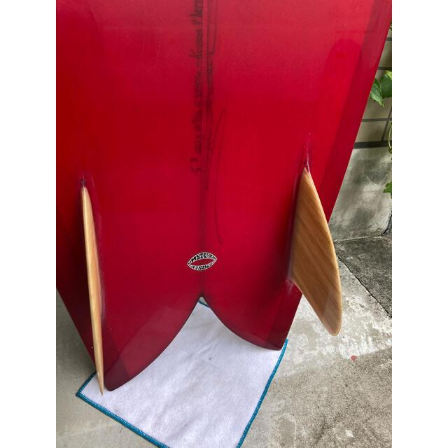 クリステンソン フィッシュ 5'3 スポーツ/アウトドアのスポーツ/アウトドア その他(サーフィン)の商品写真