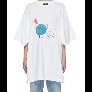 Balenciaga - バレンシアガ love earth tシャツ