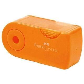 ファーバーカステル 鉛筆削り(角型ミニ)TFC-182702-3 オレンジ(その他)
