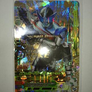 カメンライダーバトルガンバライド(仮面ライダーバトル ガンバライド)の美品 仮面ライダードレイクLR(シングルカード)