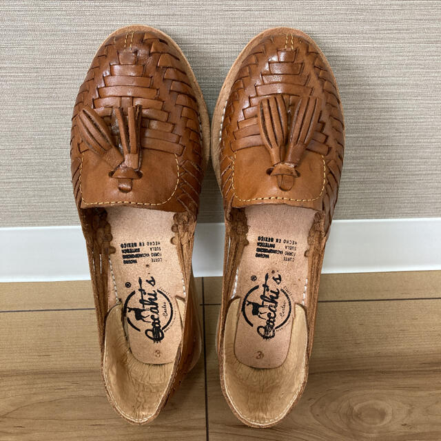 メキシコ産 フラットシューズ レディースの靴/シューズ(ハイヒール/パンプス)の商品写真