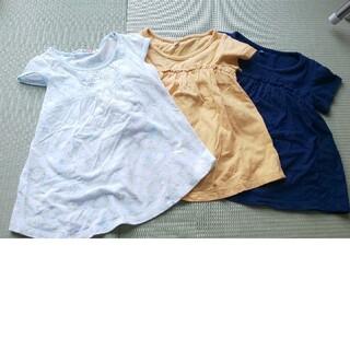 ユニクロ(UNIQLO)のキッズ  女の子  トップス  110(Tシャツ/カットソー)