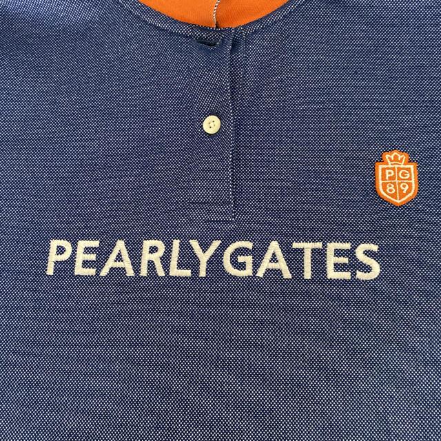 PEARLY GATES(パーリーゲイツ)のパーリーゲイツ レディース ゴルフ ポロシャツ スポーツ/アウトドアのゴルフ(ウエア)の商品写真