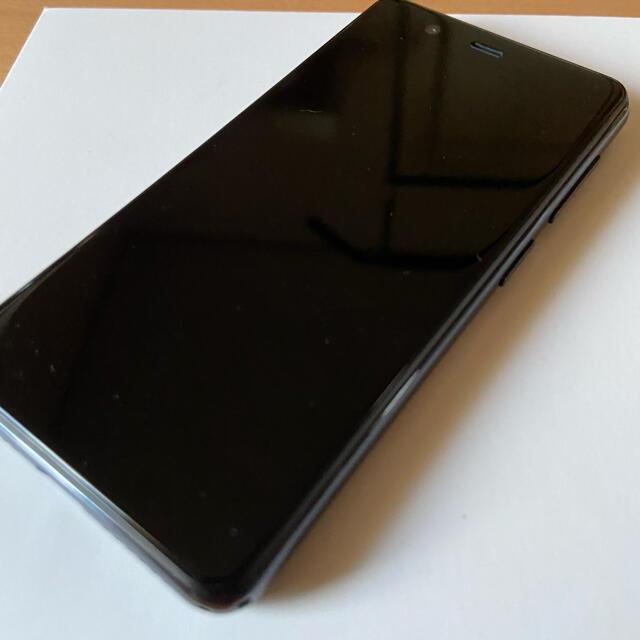 Rakuten(ラクテン)の楽天ミニ ブラック Rakuten Mini C330 スマホ/家電/カメラのスマートフォン/携帯電話(スマートフォン本体)の商品写真