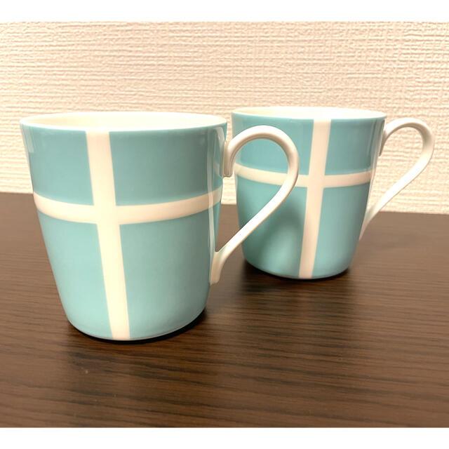 Tiffany & Co.(ティファニー)の【新品・箱なし】ティファニー リボンマグカップ インテリア/住まい/日用品のキッチン/食器(グラス/カップ)の商品写真