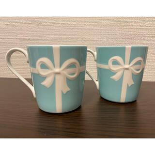 Tiffany & Co. - 【新品・箱なし】ティファニー リボンマグカップ