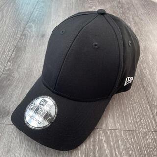 NEW ERA - ニューエラ 9FORTY キャップ 帽子 ブラック 無地 新品 正規品