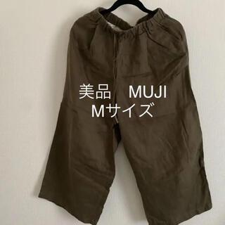 MUJI (無印良品) - 美品 無印 MUJI ワイドパンツ Mサイズ