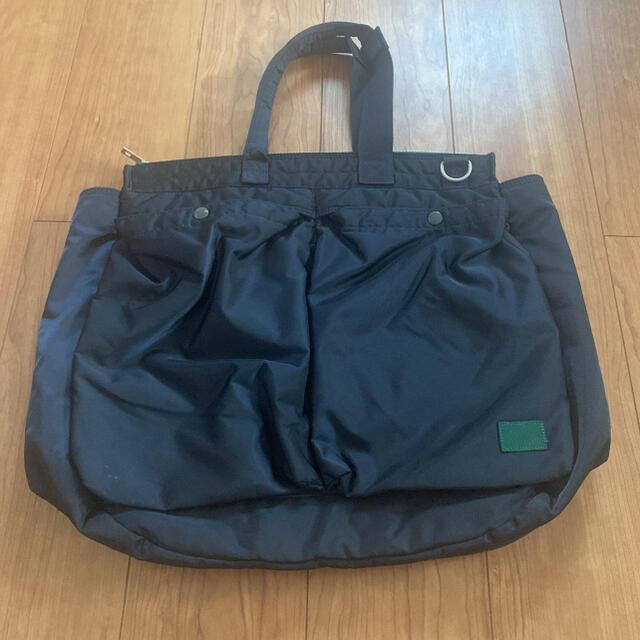 sacai(サカイ)のサカイ×ポーター ヘルメットバッグ☺︎ショルダー トート(ネイビー) メンズのバッグ(ショルダーバッグ)の商品写真