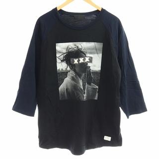 アザー(other)のゴッドセレクショントリプルエックス Tシャツ カットソー 七分袖 M 黒 紺(その他)