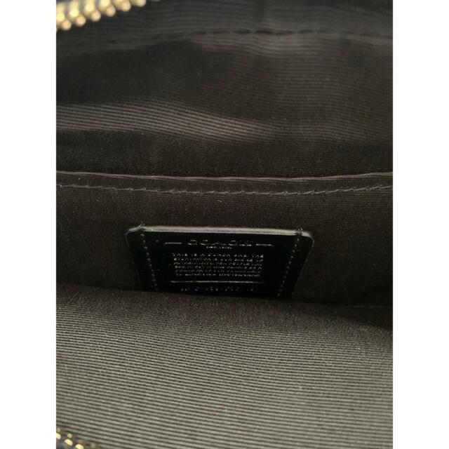 COACH(コーチ)のCOACH★コーチ レザー ジェス 馬車ロゴ クロスボディブラック 人気商品!! レディースのバッグ(ショルダーバッグ)の商品写真