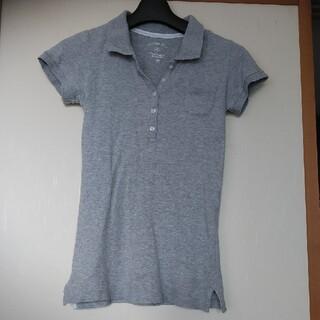 ユニクロ(UNIQLO)のユニクロ ポロシャツ グレー 140(Tシャツ/カットソー)