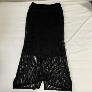 しまむら - メッシュスカート 透かし編み しまむら 2PINK