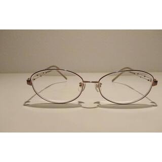 ジンズ(JINS)のメガネ レディース 度入り ケース付き(サングラス/メガネ)