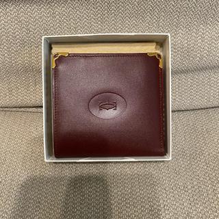 Cartier - Cartier カルティエ マストライン 二つ折り財布