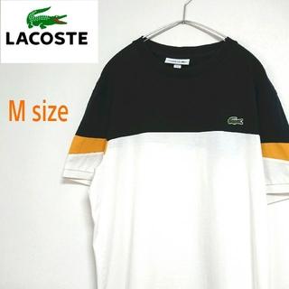 LACOSTE - 大人気 LACOSTE ラコステ 3色切替カラー  Tシャツ ワンポイントロゴ