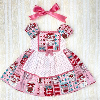 Shirley Temple - 美品 シャーリーテンプル キャンディポット 90cm ピンク ワンピース