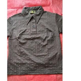 フェンディ(FENDI)のフェンディ ポロシャツ 正規品 FENDI レア ズッカ柄 半袖 USED美品(ポロシャツ)