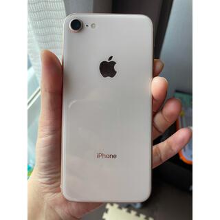 iPhone - 美品iPhone8ゴールド64GB simフリー 本体綺麗