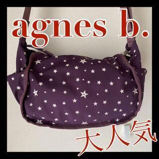 agnes b. - 大人気 アニエスベー Agnes b. ナイロン ショルダー バッグ 斜め掛け