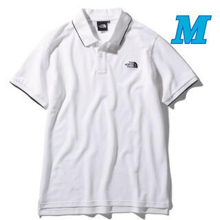 ザノースフェイス(THE NORTH FACE)のノースフェイス  ショートスリーブマキシフレッシュラインドポロ メンズ 白 M(ポロシャツ)
