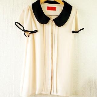 セシルマクビー(CECIL McBEE)のセシルマクビー CECIL Mc BEE シャツ ブラウス ポリエステル100%(シャツ/ブラウス(半袖/袖なし))