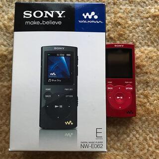SONY - SONY ウォークマン Eシリーズ NW-E062(R)