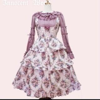 Innocent World - InnocentWorldイチゴブーケドールジャンパースカート