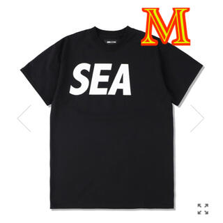 BLACK-WHITE ウィンダンシー wind and sea M  tee