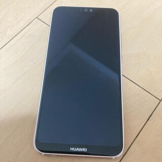 HUAWEI - Huawei P20 lite サクラピンク 本体 中古